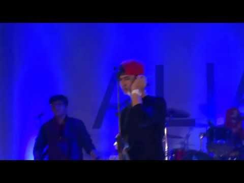 Aliando Syarief Demi Cinta concert SOLO
