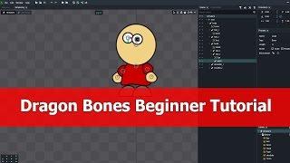 Dragon bones animation 2D tutorial beginner