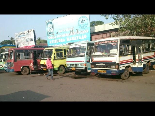 Margao/Madgaon City  Bus Stand |  Local private  buses to Majorda Raia Loutolim Cortalim to Margao