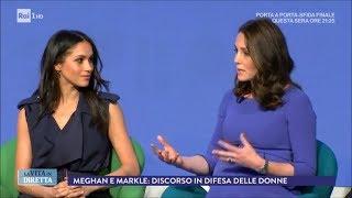 Harry e Meghan Markle, le Spice Girls riunite per le nozze reali - La Vita in Diretta 02/03/2018