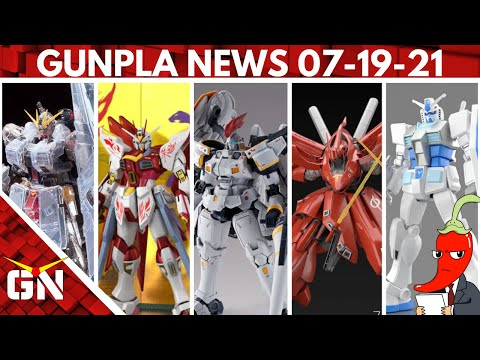 A New Tallgeese... Kind Of, The Nightingale Box Art & A New Gundam Video Game | Gunpla News