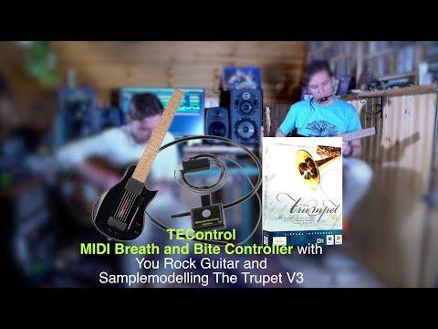 MIDI Guitar Part 5: TEControl MIDI Breath and Bite Controller