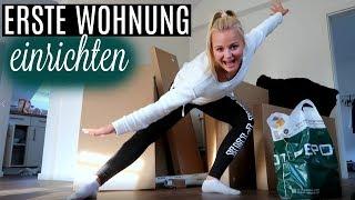 ERSTE WOHNUNG EINRICHTEN Vlog // Miss Aliana