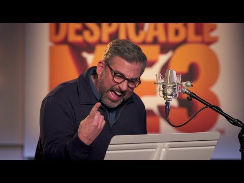 Go Behind The Scenes On DESPICABLE ME 3 (Voice Cast Movie B-Roll) + MOVIE CLIPS!