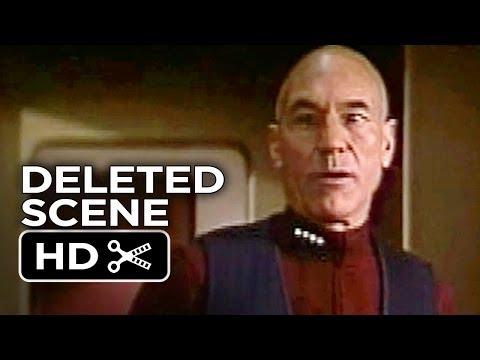 Star Trek: Insurrection Deleted Scene - Working Lunch (1998) - Patrick Stewart Movie HD