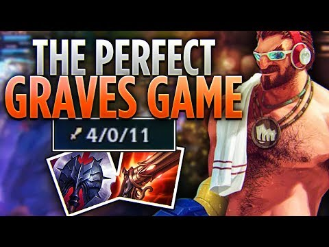Tarzaned | THE PERFECT GRAVES GAME!! | INFORMATIVE RANK 6 CHALLENGER GAMEPLAY