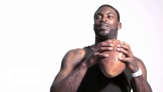 Behind the Scenes with Michael Vick - NFL Quarterback - GQ Celebrities