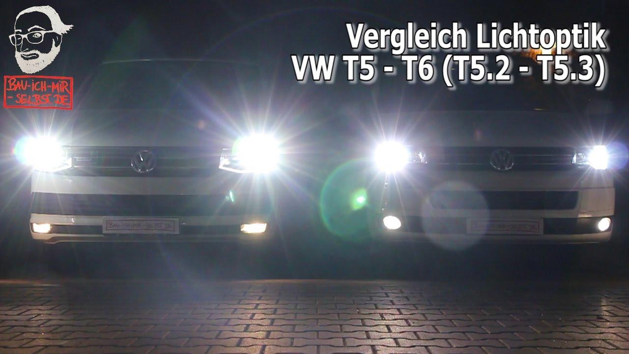 Vw Xenon 2 T5 Mit T6 Lichtvergleich Led Jl3rq54a AjRL354q