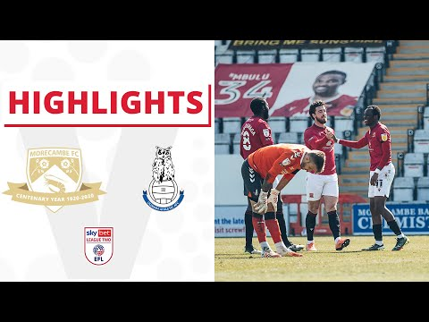 Morecambe Oldham Goals And Highlights