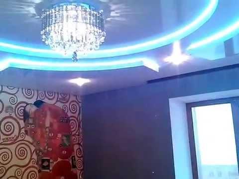 VIP Натяжные 2х,3х уровневые потолки
