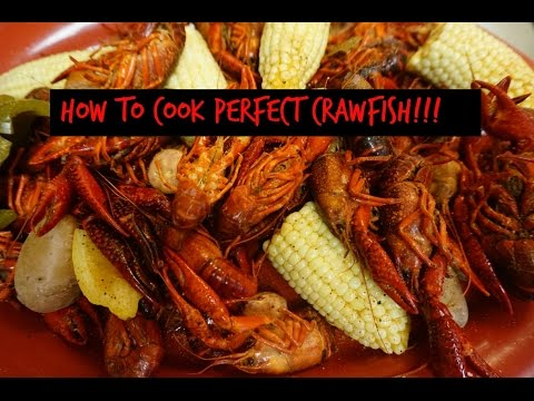 HOW TO COOK THE BEST CRAWFISH...PERIOD!!!