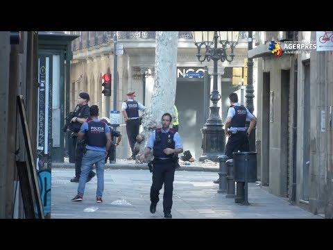 Spania în stare de alertă: atacuri teroriste în trei localităţi, printre care şi Barcelona