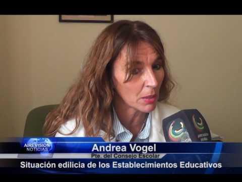 Andrea Vogel Situación edilicia Establecimientos educativos   Comedores y copa de leche