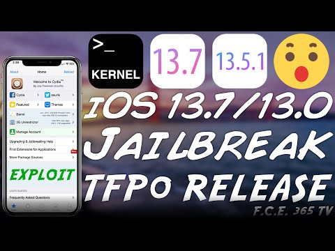 iOS 13.7 / 13.6.1 / 13.5.1 tfp0 Kernel Exploit RELEASED! (Usable For Jailbreak) A12/A13 Too!