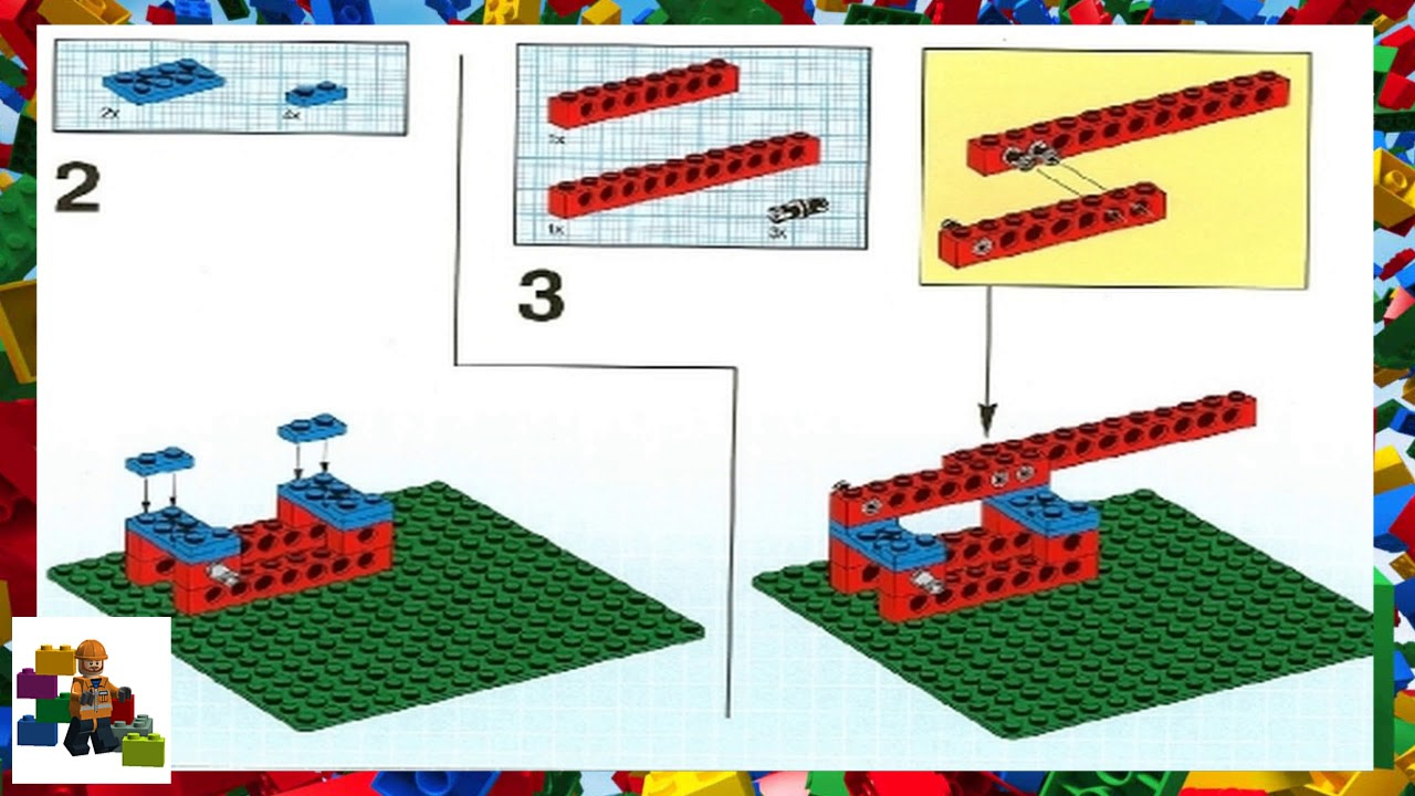 LEGO instructions - Dacta - 9630 - Simple Mechanisms Set ...