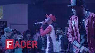 "Ricky Blaze & Kranium , ""I Feel Free"" & ""Just You and I"" - Live at The FADER FORT 2015"