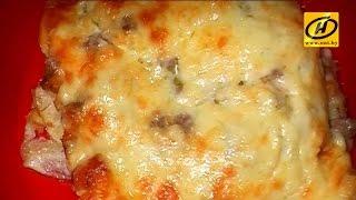 Лазанья из лаваша, простой рецепт