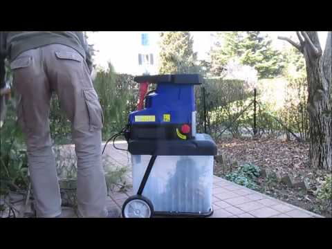 Silent Wood Shredder Lux E LH 2800 In Action