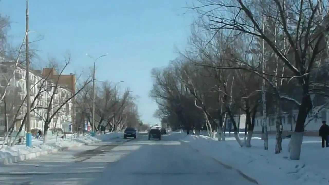 Stepnogorsk street, Kazakhstan - YouTube