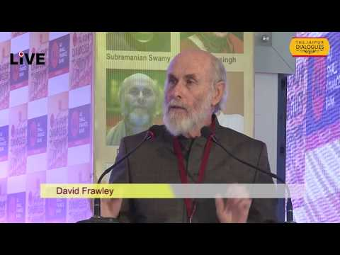 THE JAIPUR DIALOGUES,  india is the colonial country open for all religions -David Frawley,