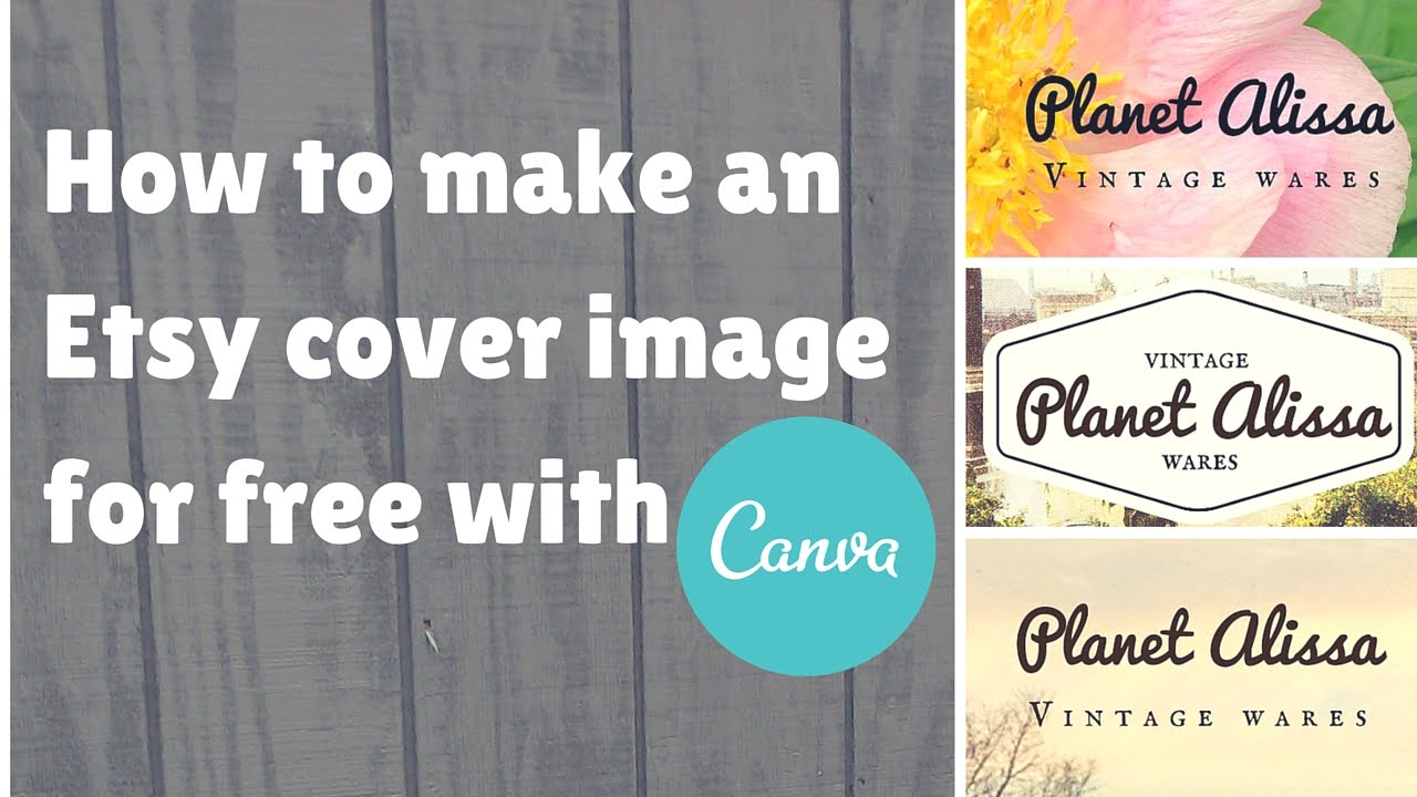 How to Make an Etsy Cover Image for Free