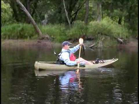 Fishing in crow wing kayaks pro angler 1080 youtube for Red wing fishing report