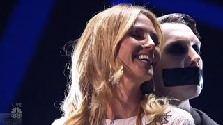 America's Got Talent 2016 Tape Face Does What He Does Live Shows Round 1 S11E12