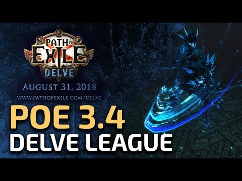 PATH OF EXILE DELVE - New League Reactions (Really surprising)