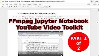 Jupyter Notebook Tutorial Windows