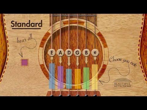Acoustic Guitar Tuner | Standard E A D G B e [ INTERACTIVE ]