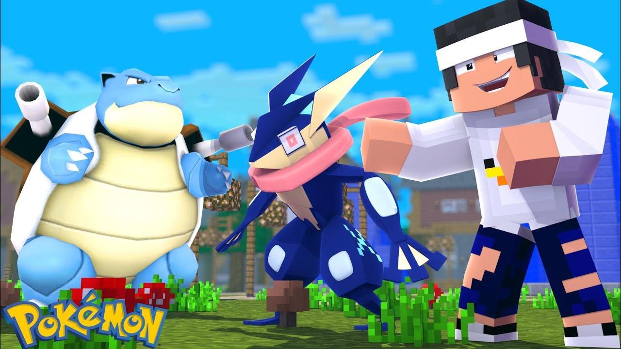 Minecraft Novo Time Pokemon Pokemon Sword And Shield Ep 18