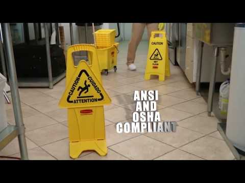Wet Floor Safety Signs Youtube