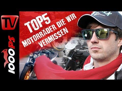 Top 5 - Motorräder die wir vermissen