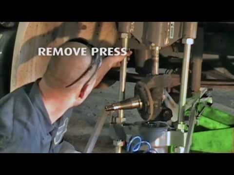 Kpp 143 Heavy Duty King Pin Press Youtube