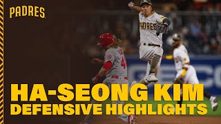 Ha-Seong Kim defensive highlights | 김하성 수비 하이라이트