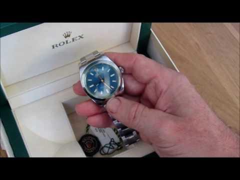 Living with a Rolex Z Blue Milgauss