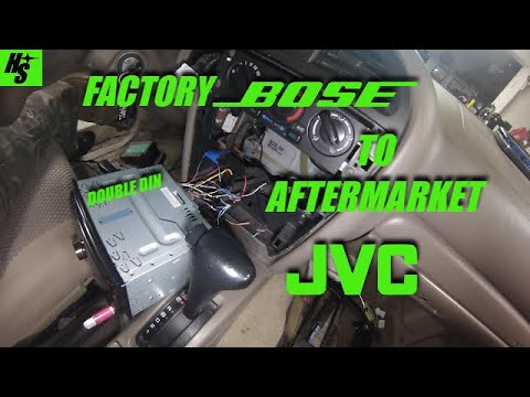 Pathfinder BOSE Head Unit Replacement - YouTube