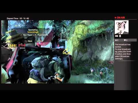 Zaiquiri's Live PS4 Broadcast