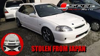 MULTIPLE STOLEN JDM CARS FOR SALE IN THE USA AT J-SPEC AUTO