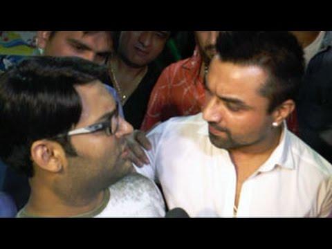 Kapil Sharma and Ajaz Khan's NASTY Fight - BREAKING NEWS