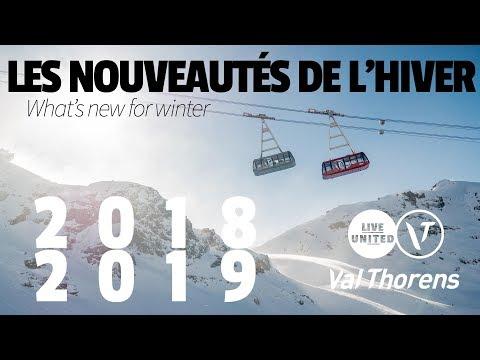 Les nouveautés de l'hiver - What's new for winter - Val Thorens 2018-2019