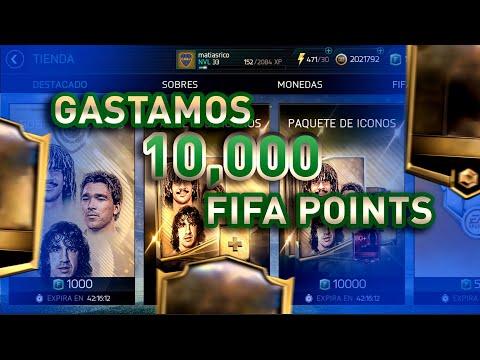 ICONOS !!! GASTAMOS 10,000 FIFA POINTS !!!    FIFA 18 MOBILE