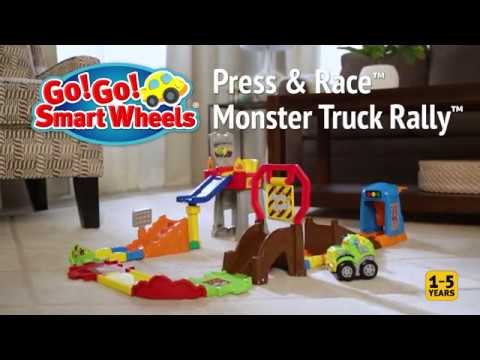 Vtech Go Go Smart Wheels Press Race Monster Truck Rally