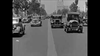 Beverly Hills, Willshire Boulevard, California Street Scene, ca. 1935 - CharlieDeanArchives