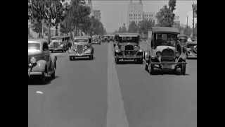 Beverly Hills, Willshire Boulevard, California Street Scene, ca. 1935 - CharlieDeanArchives