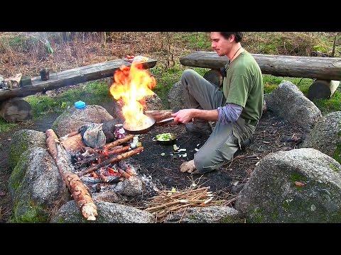 Kochen im Wald - Zusammenstellung der leckersten Gerichte für Bushcraft, Camping & Outdoor