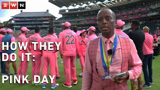 #Cricket #ShoMadjozi #CricketSA  The Pink ODI at the Wanderers has become an iconic South African sporting event and the stand out fixture on the cricket calendar.  Proceeds from the day go to the Charlotte Maxeke Breast Care Clinic with the day itself aimed at raising breast cancer awareness.  EWN takes you behind the scenes with Central Gauteng Lions Marketing and Communications Head, Wanele Mngomezulu to find out what goes into ensuring operations on the day run smoothly.