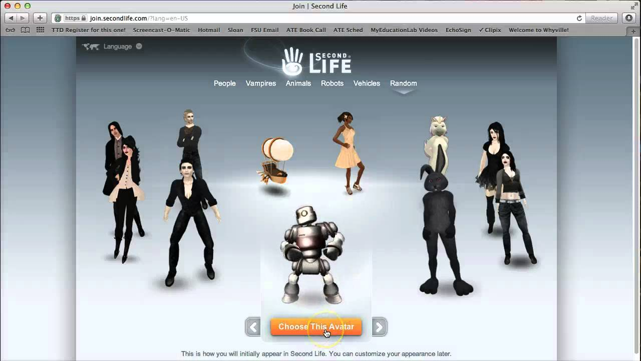 How to Join Second Life