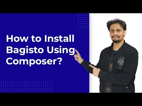 How To Install Bagisto Using Composer? - Laravel eCommerce