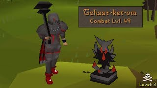 NEW Obsidian Armor Low Level Obby Tank PKING!